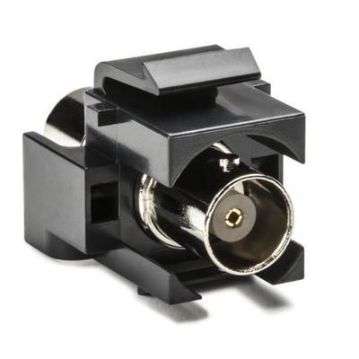 Hellermann Tyton BNCINSERT-BK Hellermann Tyton BNCINSERT-BK Connector Module; Black