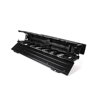 Hellermann Tyton EHWM1 Hellermann Tyton EHWM1 Dual-Sided Horizontal Wire Manager; 1-Rack Unit, Plastic, Black