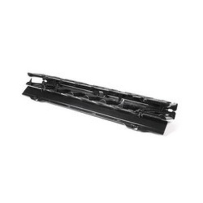Hellermann Tyton EHWMN2 Hellermann Tyton EHWMN2 Single-Sided Horizontal Wire Manager; 2-Rack Unit, Plastic, Black