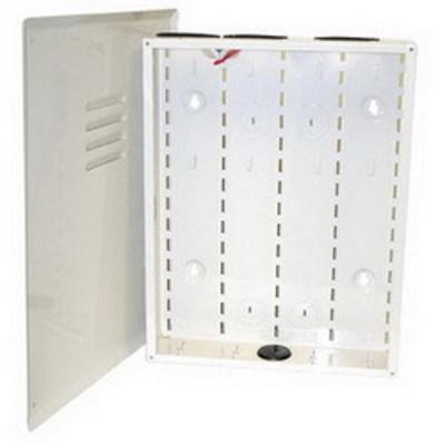 Hellermann Tyton RE18 Hellermann Tyton RE18 Residential Enclosure Structured Wiring Box; 18 Gauge Steel, White