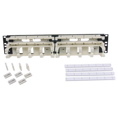 Hubbell Premise Wiring 110RM14 Hubbell Premise 110RM14 110-Style Rack Mount Kit; 2-Rack Unit