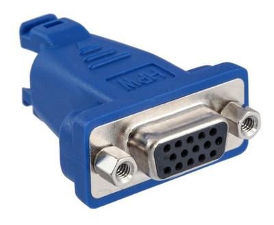 Hubbell Premise Wiring 15S6P1 Hubbell Premise 15S6P1 Conn DSub15PIN F8PIN F180DEG1Pk
