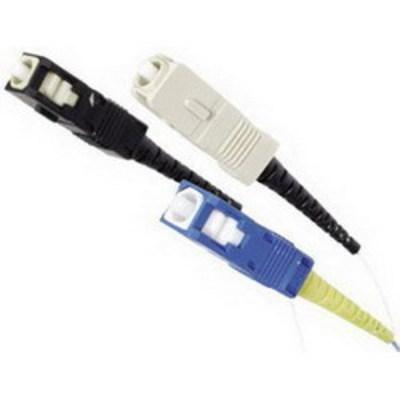 Hubbell Premise Wiring FCSCMQ12R Hubbell Premise FCSCMQ12R 2Quick® Field Polish SC/Crimp-On Fiber Optic Connector; Multimode, 125 um, Black