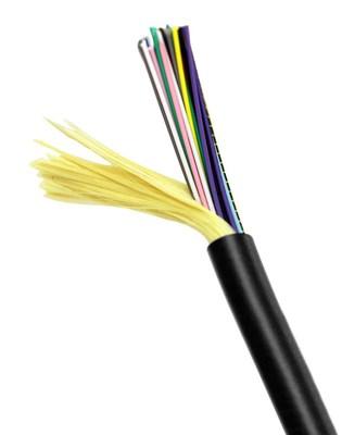 Hubbell Premise Wiring HFCD14012P4BK HFCD14012P4BK HUBBELL PRE CBL, FIBER,OM4,12F,I/O,PL,TB,BK