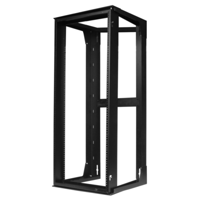 Hubbell Premise Wiring HPWWMR48 Hubbell Premise HPWWMR48 NextFrame® Swing Frame; Wall Mount, Black
