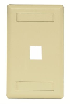 Hubbell Premise Wiring IFP11TI Hubbell Premise IFP11TI Hubbell PLATE WALL FLUSH 1-