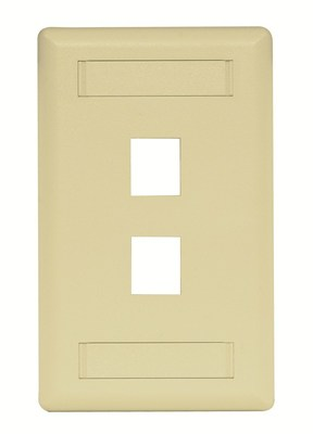 Hubbell Premise Wiring IFP12TI Hubbell Premise IFP12TI Hubbell PLATE WALL FLUSH 1-