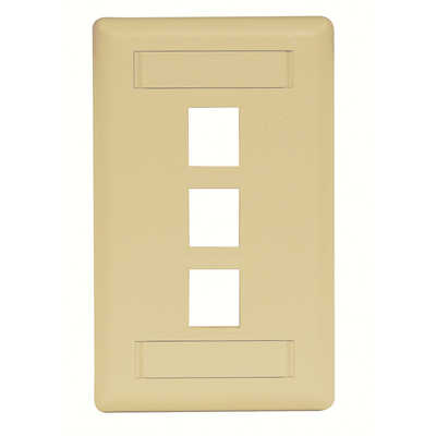 Hubbell Premise Wiring IFP13TI Hubbell Premise IFP13TI Hubbell PLATE WALL FLUSH 1-