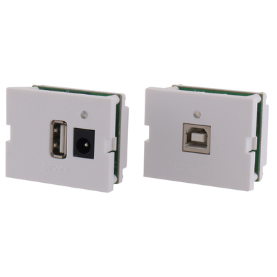 Hubbell Premise Wiring IMU11015OW IMU11015OW HUBBELL PRE USB 2.0HS,TR/TX KIT,A/B,110 TERM,1.5U,OW