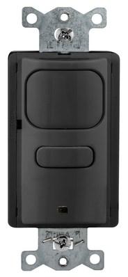 Hubbell Wiring Device-Kellems AP2000BK1 AP2000BK1 HUBBELL WD WALL SW,VAC/OCC,PIR,1R,120/277V,BK