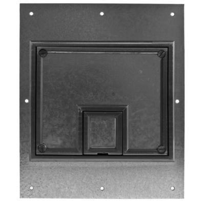 Hubbell Wiring Device-Kellems CFB7CVRBLK CFB7CVRBLK HUBBELL WD REC FB COVER, 7-G, BLACK, CARPET