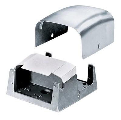 Hubbell Wiring Device-Kellems FR80AL Hubbell FR80AL Frpt Pedestal 2G Alum