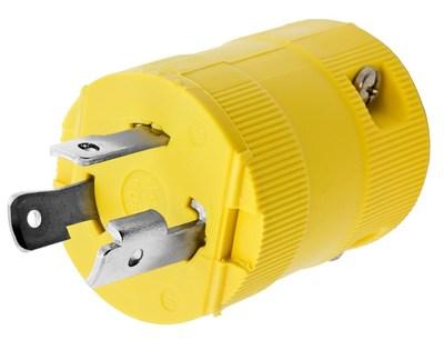 Hubbell Wiring Device-Kellems HBL26CM11V HBL26CM11V HUBBELL WD LKG VAL PLUG, CM, 30A 125V, L5-30P, YL