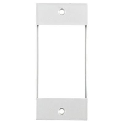 Hubbell Wiring Device-Kellems HBLIMFSWA Hubbell Wiring HBLIMFSWA Multi-Connect® Rectangular Non-Metallic 1-Gang Modular Face Plate; Screw Mount, White, (1) INFINESTATIONT&trade