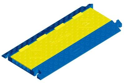 Hubbell Wiring Device-Kellems HBLTT5B Hubbell HBLTT5B Truktrak 5CH Blue Yellow