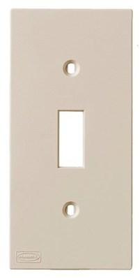 Hubbell Wiring Device-Kellems KP1AL Hubbell KP1AL Kp Toggle Plate Almond