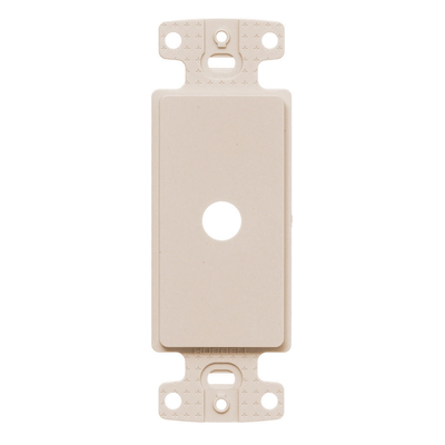 Hubbell Wiring Device-Kellems NS621LA Hubbell Wiring NS621LA Homeselect™ NetSelect® Decorator Frame; Strap/Screw Mount, Thermoplastic, Light Almond
