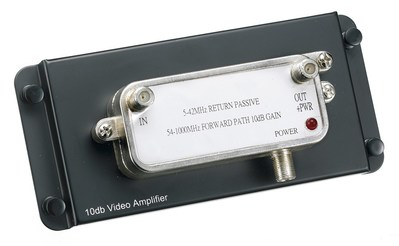 Hubbell Wiring Device-Kellems NSOVAMP Hubbell Wiring NSOVAMP NETSELECT® Standard Audio Video Module; 120 Volt, Plug-In, Black