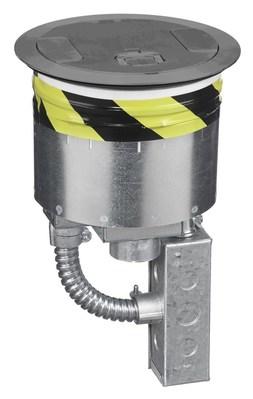 Hubbell Wiring Device-Kellems S1R8PTZZ3NKL S1R8PTZZ3NKL HUBBELL WD S1R FRPT 8, 4X20A RECEP, 2 EMT, NICKEL