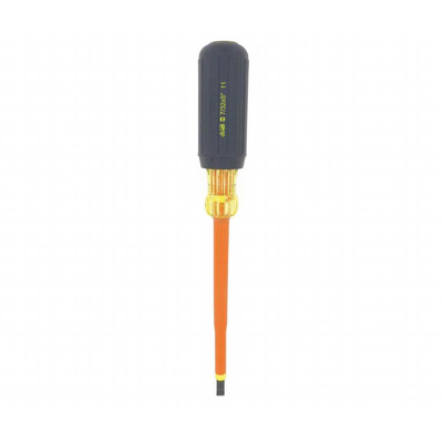 Ideal 35-9147 Ideal 35-9147 Cushion Grip Insulated Slotted Screwdriver ; 7/32 Inch Tip, 9 Inch Overall Length, 50BV30 Steel Blade