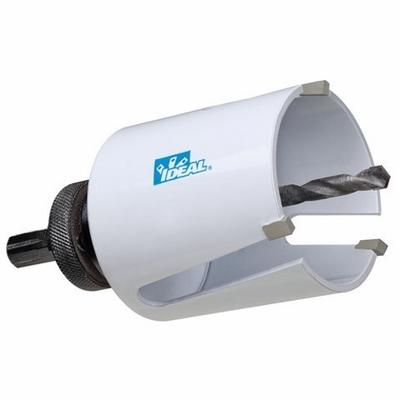 Ideal 36-358 Ideal 36-358 Tri-Bore™ Multi-Purpose Hole Saw; 4-1/4 Inch, Carbide Tip