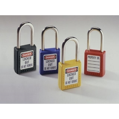 Ideal 44-918 Ideal 44-918 Safety Lockout Padlock; Xenoy Body