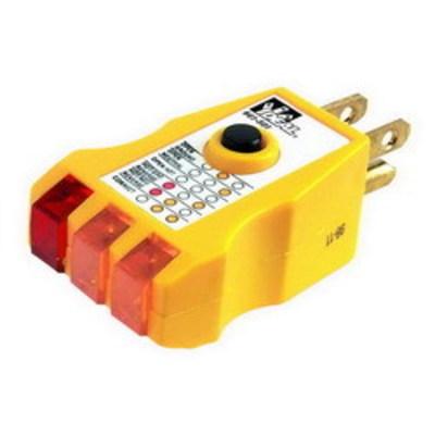 Ideal 61-501 Ideal 61-501 GFI Receptacle Tester; 120 Volt AC