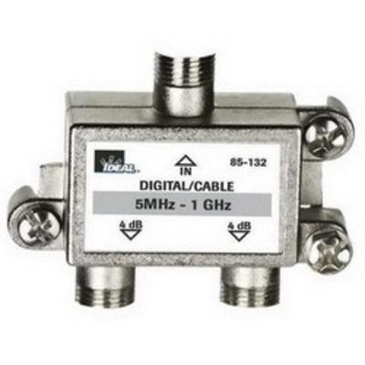 Ideal 85-132 Ideal 85-132 High Performance 2-Way Cable Splitter; Lug Mount, 5 Mega-Hz - 1 Giga-Hz