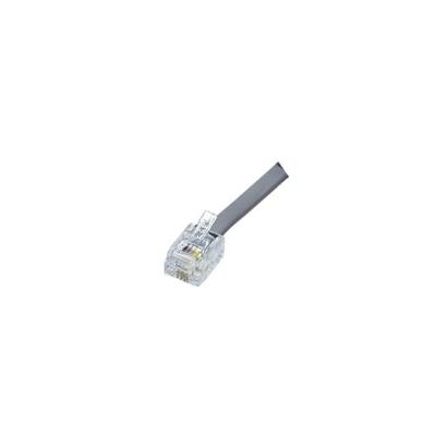 Ideal 85-344 Ideal 85-344 Category 5e RJ11 Phone Modular Plug; 6P4C, Clear