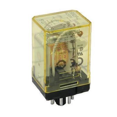 Idec RR2P-UAC24V Idec RR2P-U-AC24V General Purpose Power Relay; 2 Pole, 24 Volt AC