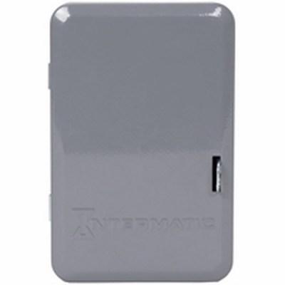 Intermatic 2T2040GA Intermatic 2T2040GA-(A) 1-Gang Indoor Enclosure; 3 Inch Depth, Drawn Steel, Gray