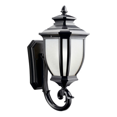 Kichler Lighting 9041BK 9041BK KICHLER OUTDOOR WALL 1LT