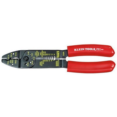 Klein Tools 1001 Klein Tools 1001 Multi-Purpose Combination Wire-Stripping and Cutting Electrician's Tool; Steel, 8-1/2 Inch Overall Length