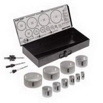 Klein Tools 31645 Klein Tools 31645 Large Size Hole Saw Kit; Carbide Tipped