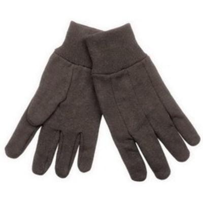 Klein Tools 40002 Klein Tools 40002 Heavyweight Jersey Gloves; Universal, Dark Brown