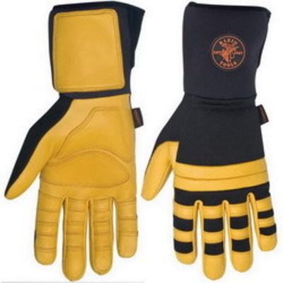 Klein Tools 40086 Klein Tools 40086 Lineman Work Glove; XX-Large, Black Spandex Back With Klein Lineman Logo Patch