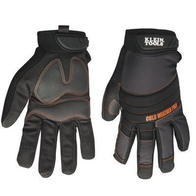 Klein Tools 40212 Klein Tools 40212 Cold Weather Utility Pro Gloves; Large, Molded Rubber Closure