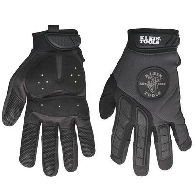 Klein Tools 40215 Klein Tools 40215 TrekDry™ Poron® Journeyman™ Utility Gloves; Large, Neoprene Cuff, Soft Molded Rubber Closure