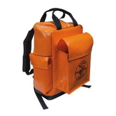 Klein Tools 5185ORA Klein Tools 5185ORA Lineman Backpack; Orange