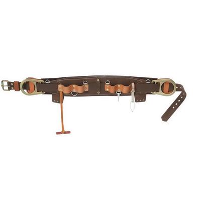 Klein Tools 5266N24D Klein Tools 5266N-24D Semi-Floating Linemans Body Belt; 4-3/4 Inch Width x 40.000 - 48 Inch Length