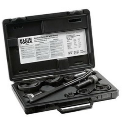 Klein Tools 53732SEN Klein Tools 53732SEN Knockout Punch Set With Wrench; 10 Gauge