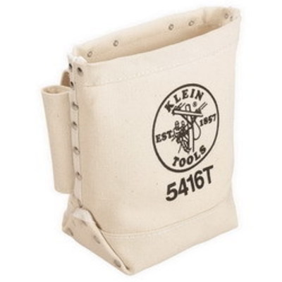Klein Tools 5416T Klein Tools 5416T Bull-Pin and Bolt Bag With Tunnel Loop; Canvas
