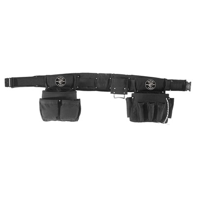 Klein Tools 5710L Klein Tools 5710L Powerline™ Combo Electricians Tool Pouch Set; 2 Inch Belt Width, Nylon, 4 Piece, Large, 27 Pockets