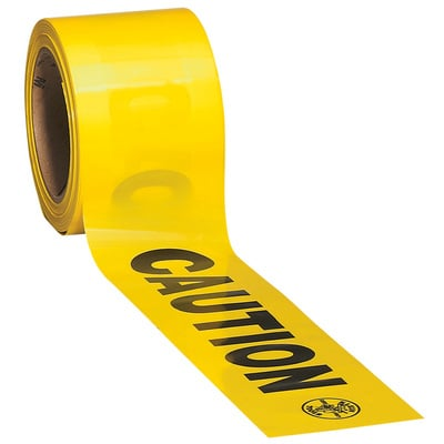 Klein Tools 58000 Klein Tools 58000 Warning Tape Caution 3 X 200 Roll