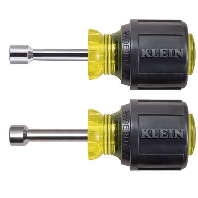 Klein Tools 610M Klein Tools 610M Cushion Grip Magnetic Tip Nutdriver Set; 2-Piece