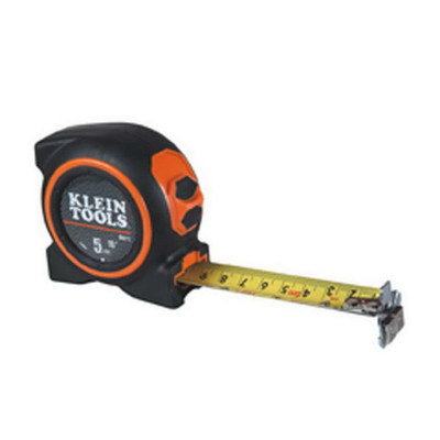 Klein Tools 86615 Klein Tools 86615 Magnetic Tape Measure; 5 m Length x 3/8 Inch Width, Hardened Steel Blade Nylon Coated