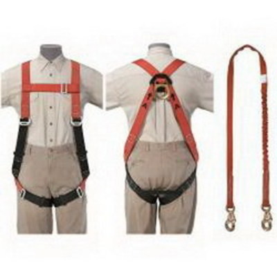 Klein Tools 87150 Klein Tools 87150 Lite® Fall Arrest Harness Tradesman Set; Polyster
