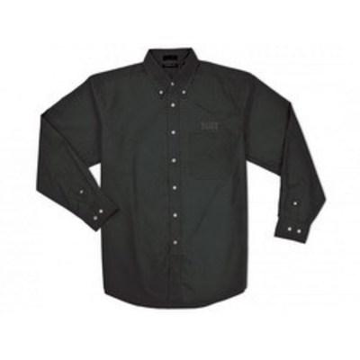 Klein Tools 96605BLK-3XL Klein Tools 96605BLK-3XL Button-Down Men's Shirt; 3X-Large, Cotton/Poly Blend, Black