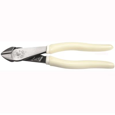 Klein Tools D200028GLW Klein Tools D2000-28GLW Hi-Viz High Leverage Diagonal-Cutting Plier; 8-1/16 Inch Overall Length