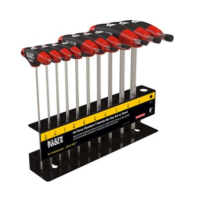 Klein Tools JTH910E Klein Tools JTH910E Journeyman™ SAE Hex Key Set; Treated Steel